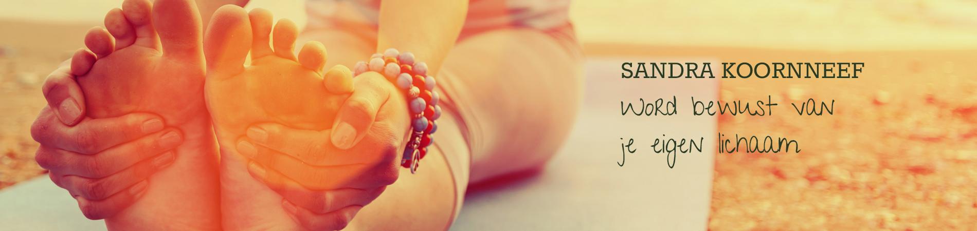 bewust van je eigen lichaam Sandra Koornneef yogaschool zensa yoga