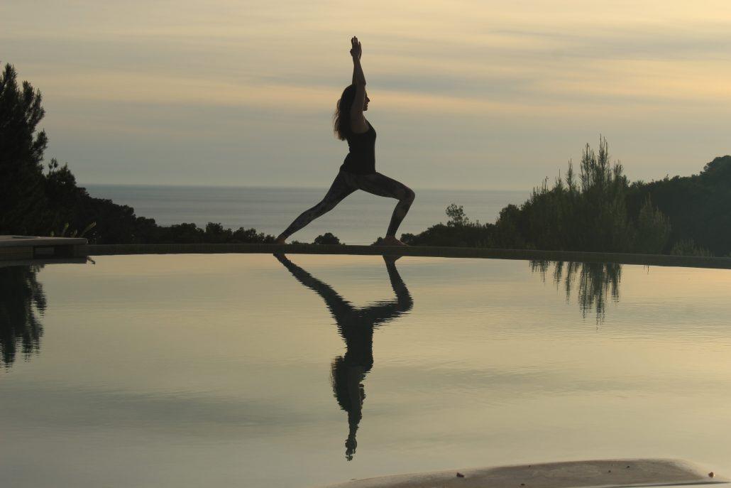 Yogalessen weer van start